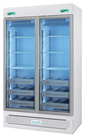 Frigorifero Professionale MEDIKA 2T 600 ECT-F - 2 temperature