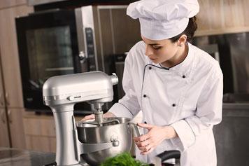 vendita preparazione dinamica cucina